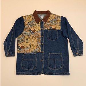 Western Jean chore Jacket